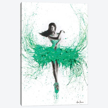 Southern Jade Ballerina Canvas Print #VIN137} by Ashvin Harrison Canvas Wall Art