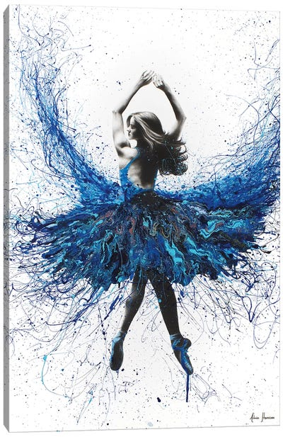 York Crystal Dance Canvas Art Print
