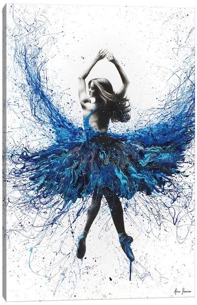 York Crystal Dance Canvas Art Print