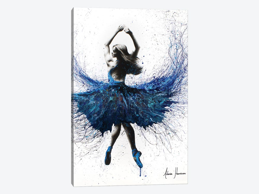 Bolshoi Crystal Dancer by Ashvin Harrison 1-piece Canvas Art