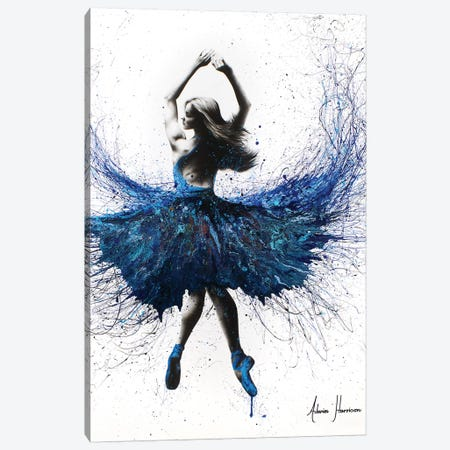 Bolshoi Crystal Dancer 3-Piece Canvas #VIN141} by Ashvin Harrison Canvas Art