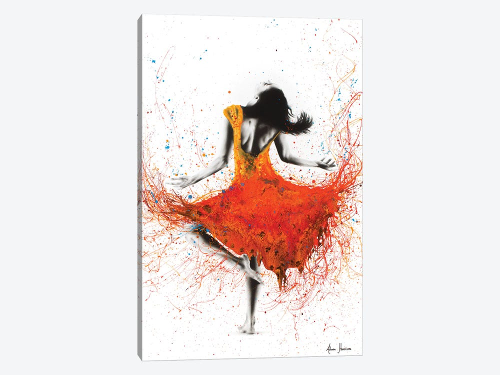 Desert Storm Dance by Ashvin Harrison 1-piece Art Print