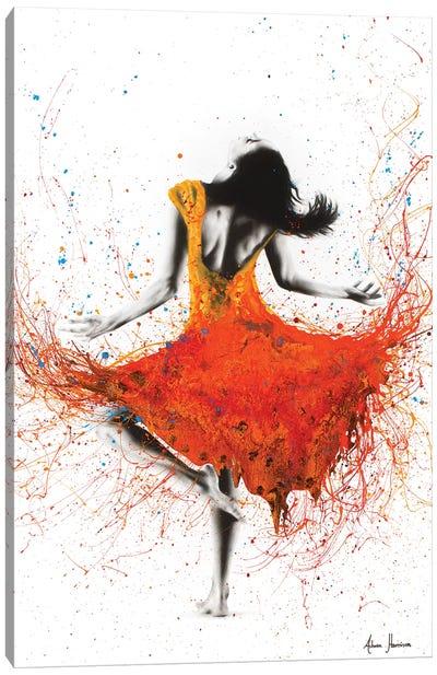 Desert Storm Dance Canvas Art Print