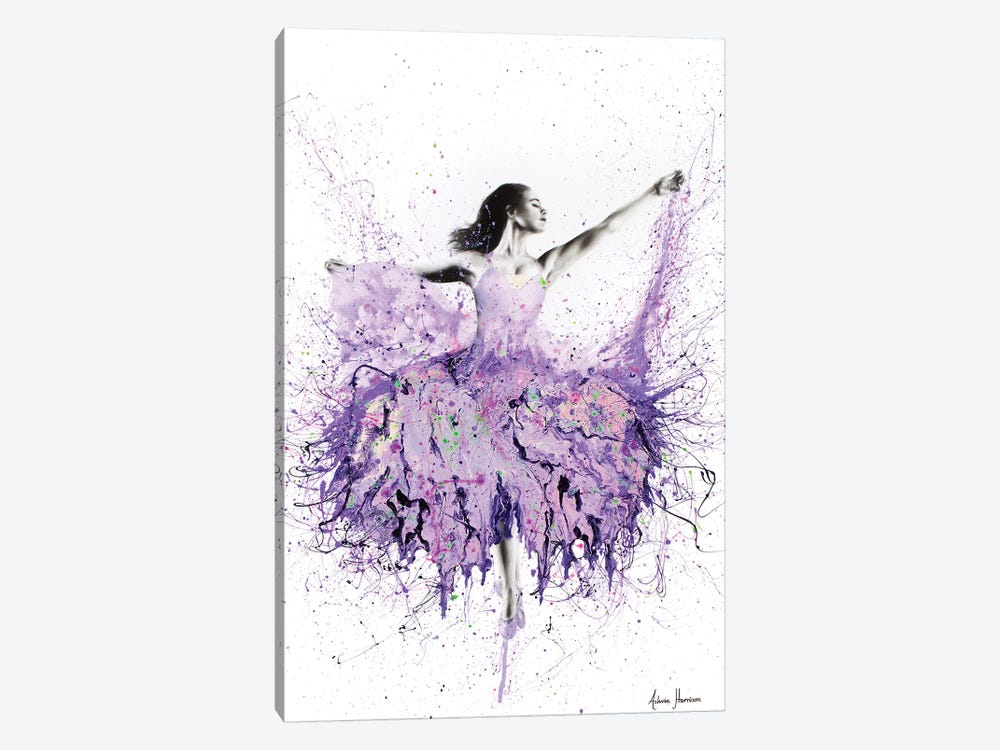 French Garden Ballet by Ashvin Harrison 1-piece Canvas Wall Art