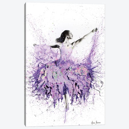 French Garden Ballet 3-Piece Canvas #VIN145} by Ashvin Harrison Art Print