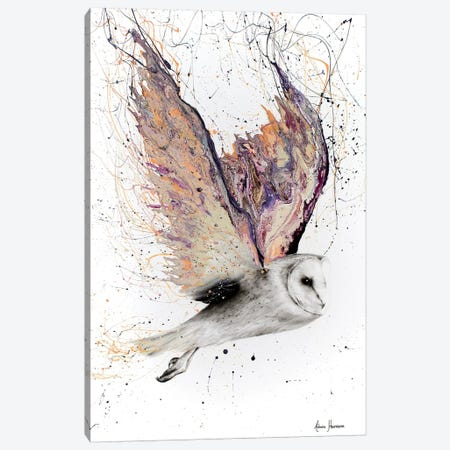 Heart Winged Owl Canvas Print #VIN146} by Ashvin Harrison Art Print