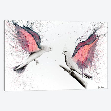 Love For Life Canvas Print #VIN147} by Ashvin Harrison Art Print