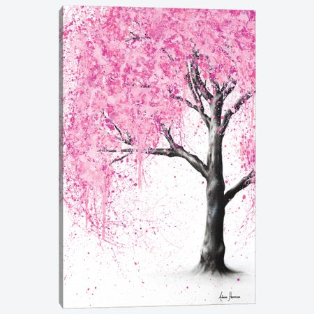 Secret Blossom Canvas Print #VIN157} by Ashvin Harrison Canvas Wall Art