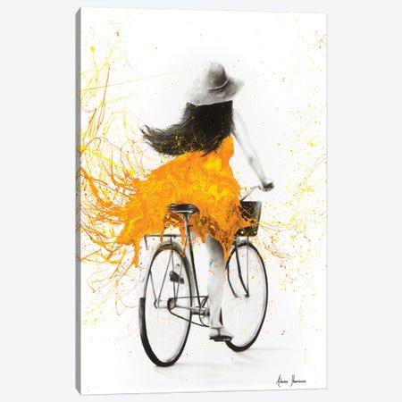 Sunflower Sunday Canvas Print #VIN158} by Ashvin Harrison Art Print