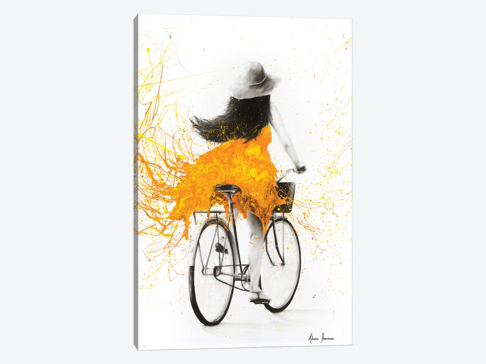 Sunflower Sunday by Ashvin Harrison 1-piece Canvas Artwork