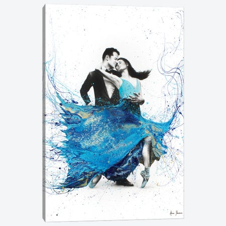 The First Dance Canvas Print #VIN163} by Ashvin Harrison Canvas Wall Art