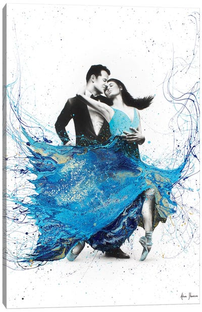 The First Dance Canvas Art Print