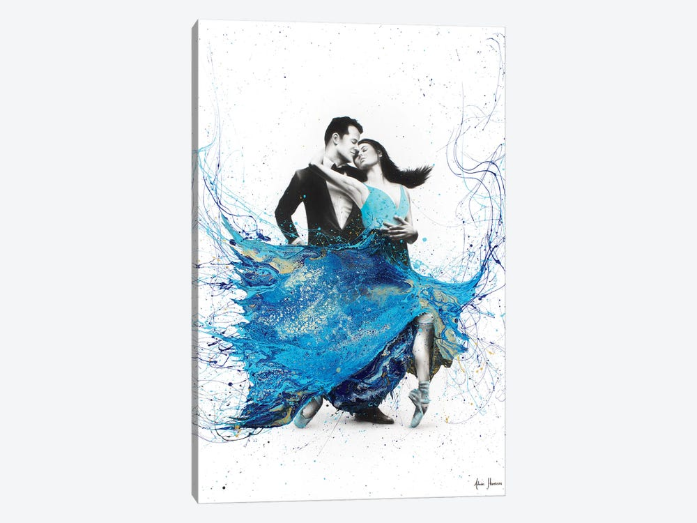 The First Dance by Ashvin Harrison 1-piece Canvas Wall Art