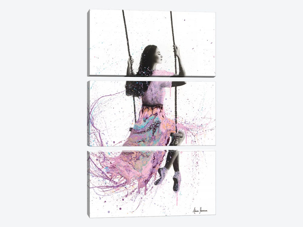 You Want Your Freedom by Ashvin Harrison 3-piece Canvas Art