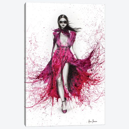 Autumn Gucci Rose Canvas Print #VIN167} by Ashvin Harrison Canvas Art Print