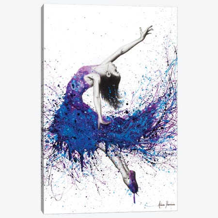 Evening Sky Dancer Canvas Print #VIN171} by Ashvin Harrison Canvas Print
