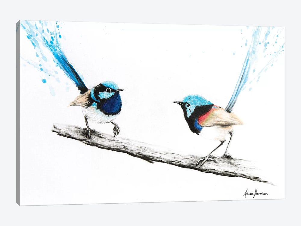 Last Goodbye Wren by Ashvin Harrison 1-piece Art Print