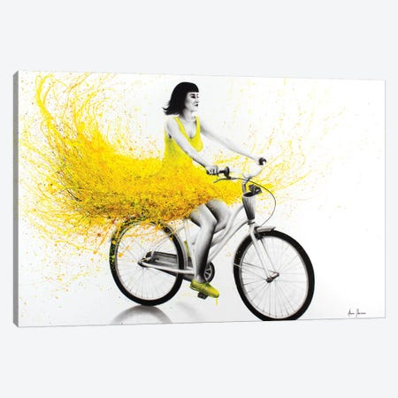 A Beautiful Sunday Canvas Print #VIN178} by Ashvin Harrison Canvas Print