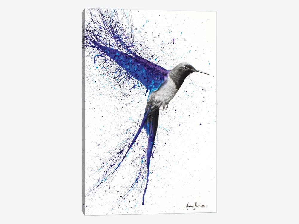 Coming Home In The Rain by Ashvin Harrison 1-piece Canvas Print