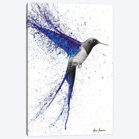 Coming Home In The Rain Canvas Print #VIN17} by Ashvin Harrison Art Print