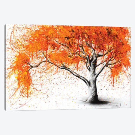 Autumn Flames Canvas Print #VIN181} by Ashvin Harrison Canvas Wall Art