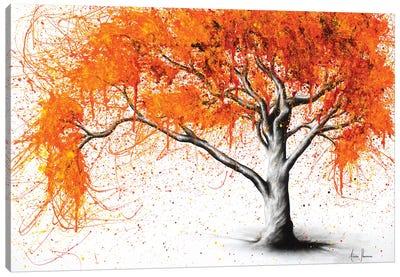 Autumn Flames Canvas Art Print