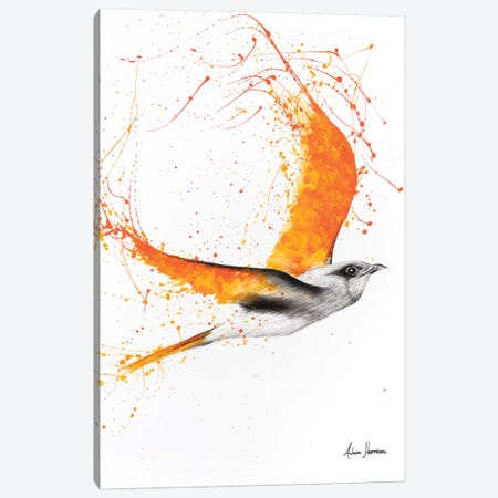 Citrus Wings Canvas Print #VIN184} by Ashvin Harrison Canvas Print