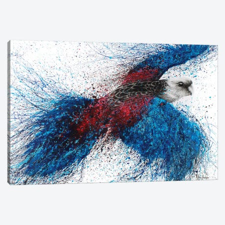 Crimson Resin Rosella Canvas Print #VIN18} by Ashvin Harrison Canvas Art