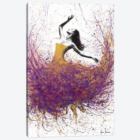 Golden Amethyst Ballet Canvas Print #VIN190} by Ashvin Harrison Canvas Print