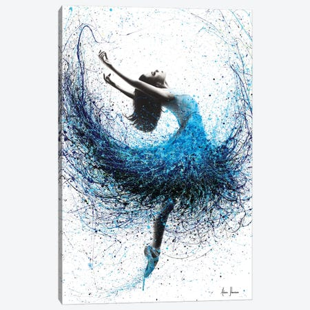 Ocean Mist Dance Canvas Print #VIN192} by Ashvin Harrison Canvas Print