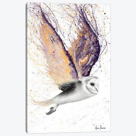 Opal Winged Owl Canvas Print #VIN193} by Ashvin Harrison Art Print