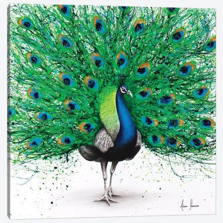 Pavo Pthalo 3-Piece Canvas #VIN195} by Ashvin Harrison Canvas Art