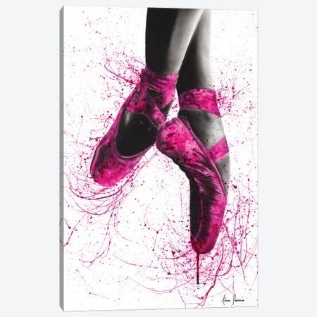 Pretty In Pink Ballet Canvas Print #VIN196} by Ashvin Harrison Canvas Art