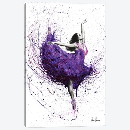 Purple Rain Ballet Canvas Print #VIN198} by Ashvin Harrison Canvas Art Print