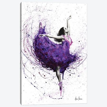 Purple Rain Ballet Canvas Print #VIN198} by Ashvin Harrison Canvas Art Print