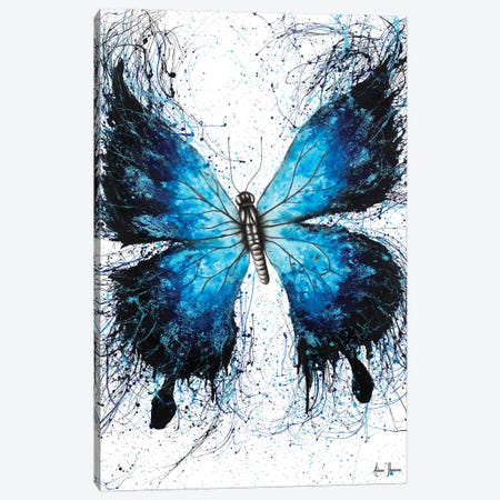 The Butterfly Tattoo Canvas Print #VIN201} by Ashvin Harrison Canvas Art Print
