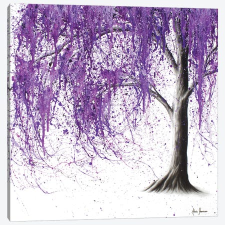 Violet Vale Canvas Print #VIN202} by Ashvin Harrison Canvas Print