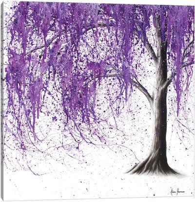 Violet Vale Canvas Art Print