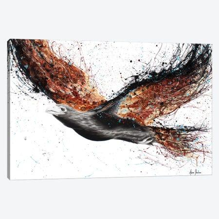 Western Eagle Whew 3-Piece Canvas #VIN203} by Ashvin Harrison Canvas Art Print