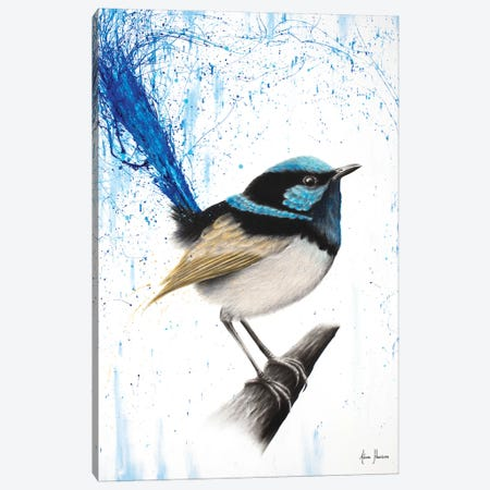 Wren Of Rain Canvas Print #VIN204} by Ashvin Harrison Canvas Artwork