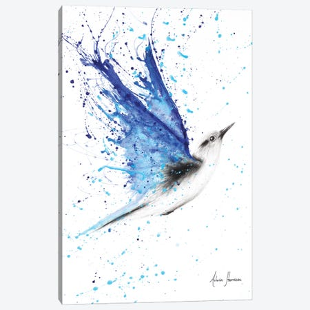 Blue Freedom Flight Canvas Print #VIN207} by Ashvin Harrison Canvas Artwork