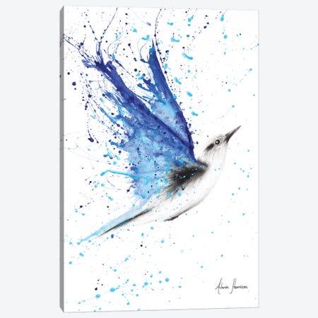 Blue Freedom Flight Canvas Print #VIN207} by Ashvin Harrison Canvas Artwork