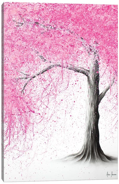 Crown Blossom Canvas Art Print