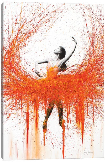 Dance With Fire Canvas Art Print