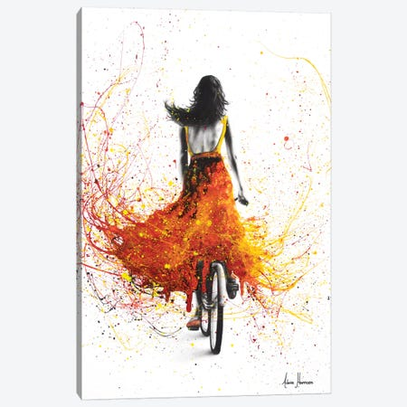 Finding Flames Canvas Print #VIN210} by Ashvin Harrison Canvas Art