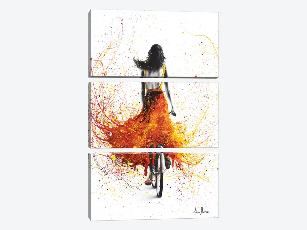 Finding Flames by Ashvin Harrison 3-piece Canvas Artwork
