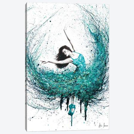 Jade Ballet Canvas Print #VIN211} by Ashvin Harrison Canvas Art