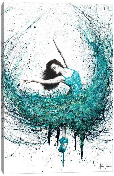 Jade Ballet Canvas Art Print