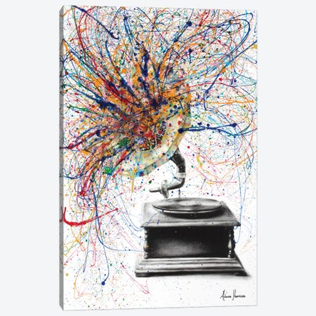 Louder Canvas Print #VIN212} by Ashvin Harrison Canvas Art