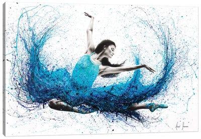 Luna Marina Ballet Canvas Art Print
